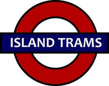 Island Trams Sign