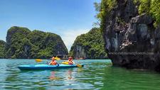 Kayaking At Halong Bay 1