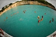 Lambada Swim Stop En Route Home
