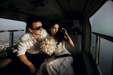 Newlyweds Helicopter Shutterstock 407026546 Med Res
