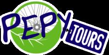 Pepy Tours Logo White Outline Rgb