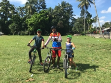 Mei & Dwi On Luwus To Cengkilung Family Adventure - Beginner/intermediate Mtb Tour