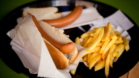 French Fries Hot Dog