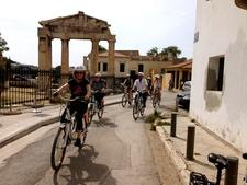 Roman Agora Plaka Athens Solebike Biketourism End Of May 16