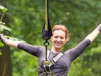 Flying Fox Woman Zip Line