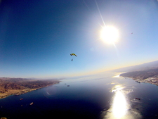 Skydive Eilat Tandemjump Attraction Israel Beach Blue Original