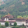 The Tashichho Dzong In Thimphu Is The Seat Of The Bhutanese Government Since 1952.