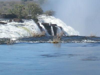 Victoria Falls Upstream View