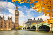 Bigstock Big Ben With Autumn Leaves Lo 49194818