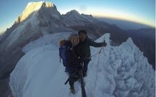 Ishinca Summit 5550m - Cordillera Blanca