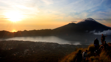 THE VIEW FROM MT BATUR