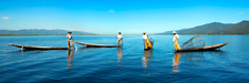 Inle Lake Rowing