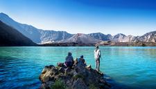 Lake Segara Anak Rinjani 2000 Meters Mount Rinjani