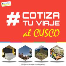 Cotiza Tu Viaje Al Cusco