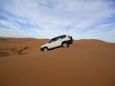 4x4 Sur Les Dunes