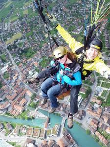 Paragliding Over Interlaken
