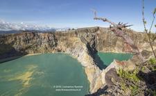 Kelimutu Lakes Flores Island Indonesia