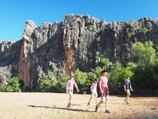 Kimberley Family Tour Windjana Gorge