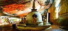 P Dambulla Cave Temple Inside
