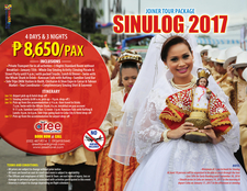 Sinulog 2017 Joiner Tour Package