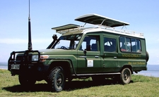 Sunrays Car Hire Safari Landcruiser