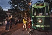 Tram Tracks Scritta Giuliano Del Gatto