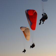 Twin Paragliding Evening Flight