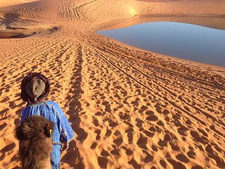 Beautiful View In Sahara
