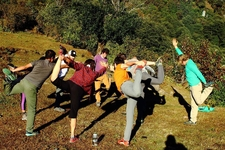Yoga At Trek