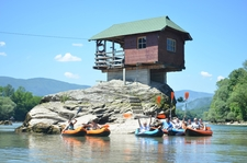 Drina Kayaking House On The Drina River