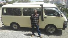 Our Tour Safari Van