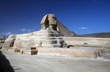 Giza Pyramids Sphinx In Cairo