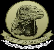 Logo Komodo Signature