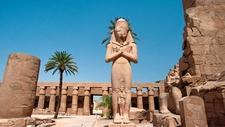 Statue Of Rameses Ii Karnak Temple Luxor