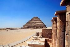 Step Pyramid At Sakkara