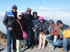 Guests Enjoying At Silk Route, Sikkim