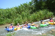 River Rafting In Jamaica Aug 2015