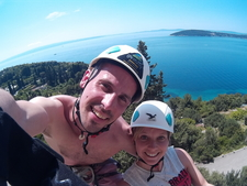Rock Climbing In Split With Given2fly Adventures9