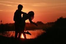 Honeymoon Couple In Chitwan