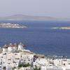 Panoramic View Of Mkyonos Town