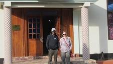 Outside Arusha Hotel