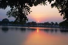 Sunset West Lake