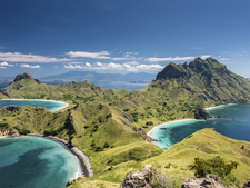 Komodo Islands Scenic Pic