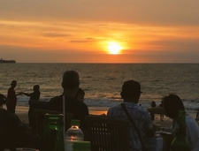 Beach Sunset In Bali