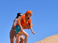 Top Of The Sand Dunes