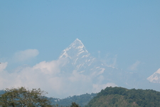 Fishtail Peak From Pokhara