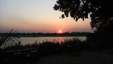 Sunset At Selous Mtagalala Lodge