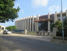The Front View Of Julius Nyerere International Convention Centre