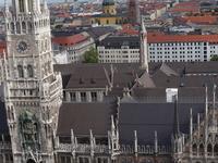 Munich - The New Town Hall And Marienplatz