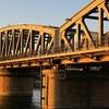 Railway Bridge Between Talkha And Mansoura